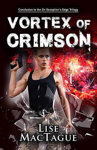 Vortex of Crimson by Lise MacTague