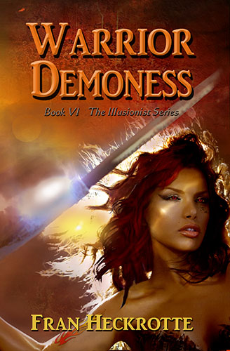 Warrior Demoness by Fran Heckrotte