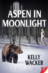 Aspen in Moonlight by Kelly Wacker