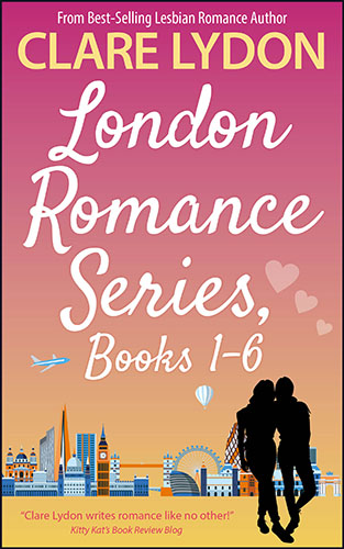 London Romance Series 1-6 by Clare Lydon